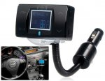 "iParaAiluRy® New 1.8"" LCD Screen Multifunctional Bluetooth Hands-free Car Kit with Card Reader Black"